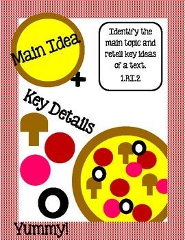 Main Idea & Key Details -RI.2 (K & 1)
