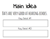 Main Idea & Key Details Sorting Activity
