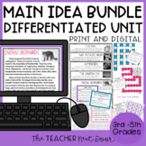 Main Idea Bundle | Main Idea Activities | Main Idea Games