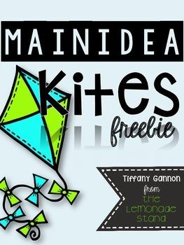 Main Idea Kite Craftivity Freebie