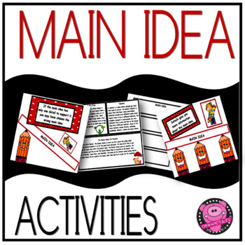 MAIN IDEA and SEQUENCING ELA JOURNAL ACTIVITY