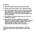 Main Idea Lesson