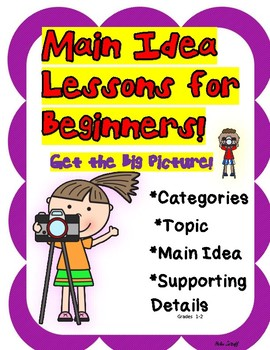 Main Idea Lessons for Beginners