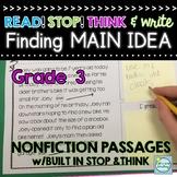 Main Idea Reading Passages