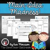 Main Idea Madness! {Common Core Aligned}