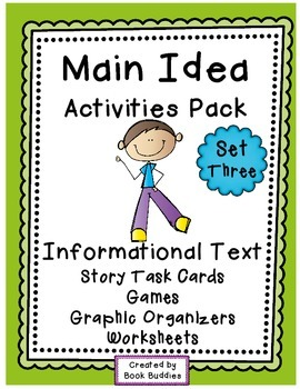 Main Idea Nonfiction Stories and Activities