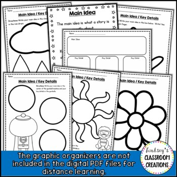 Main Idea & Key Details Activities - Teaching Main Idea