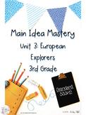 Main Idea Mastery: European Explorers for 3rd Grade