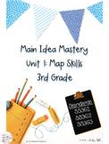 Main Idea Mastery: Map Skills for 3rd Grade