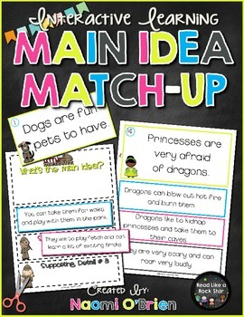 Main Idea Match-Up Game
