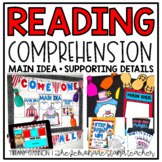 Main Idea and Supporting Details Activities, Crafts, and G
