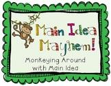 Main Idea Mayhem Game Common Core Aligned
