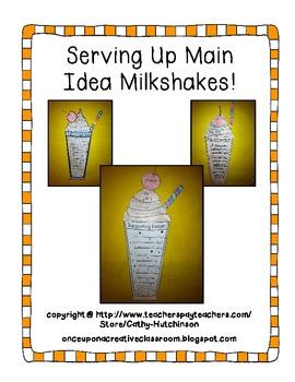 Main Idea Milkshakes
