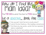 Main Idea Mini Anchor Chart