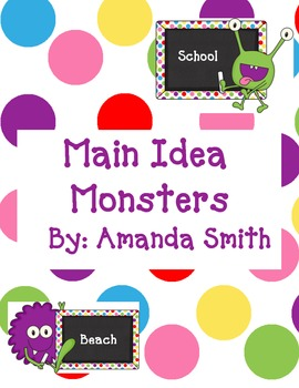 Main Idea Monsters
