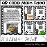 QR Code Main Idea: 3rd and 4th Grade