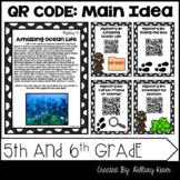 QR Code Main Idea: 5th and 6th Grade