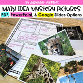Main Idea Mystery Bags (Google Classroom, PDF, PPT) - Dist
