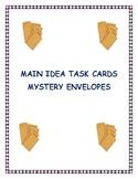 Main Idea - Mystery Envelopes