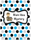 Main Idea Mystery Worksheet
