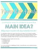 Main Idea - Name That Article