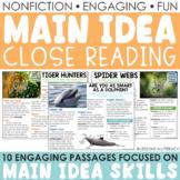 Main Idea Nonfiction Passages {Volume 1}