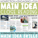 Main Idea Nonfiction Passages {Volume 2}
