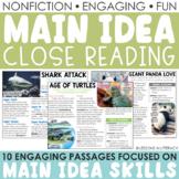 Main Idea Nonfiction Passages {Volume 2}