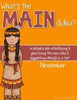 Main Idea November