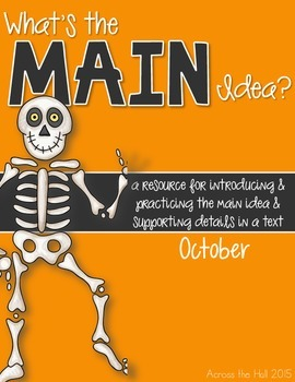Main Idea October