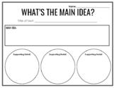 Main Idea Organizer