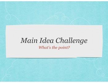 Main Idea PPT