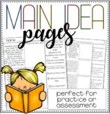 Main Idea Pages