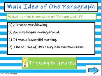 Main Idea Part 2 Sample Presentation