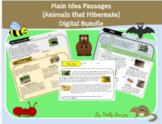 Main Idea Passages (Animals that Hibernate) Bundle