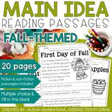 Main Idea Passages (Fall)