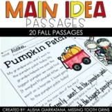 Main Idea Passages (Fall)