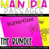 Main Idea Passages (For The Entire Year)