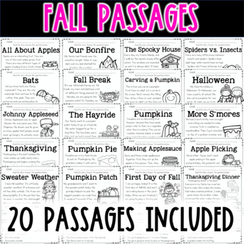 Main Idea Passages For The Entire Year By Missing Tooth