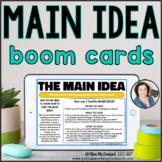 Main Idea Passages & Questions | BOOM CARDS™
