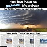 Main Idea Passages: Weather