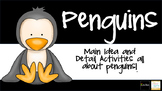 Main Idea - Penguins