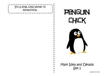 Main Idea - Penguins Journeys Grade 2 Week 21