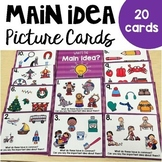 Main Idea Picture Cards