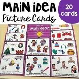 Main Idea Picture Cards
