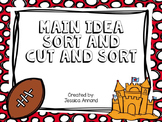 Main Idea Picture Sort and Cut and Sort