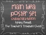 Main Idea Posters