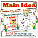 Main Idea Posters and GO Sheets