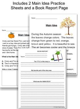 Main Idea *Power Point Presentation* Autumn (Fall) Edition