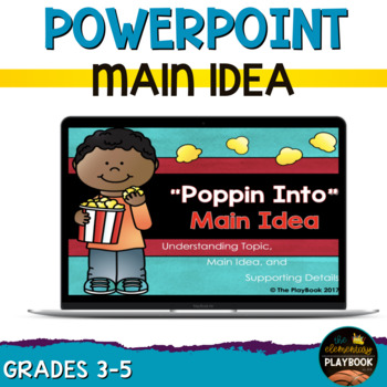 Main Idea PowerPoint *Aligned to Common Core and the LAFS